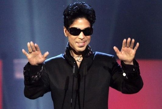 prince in concert: