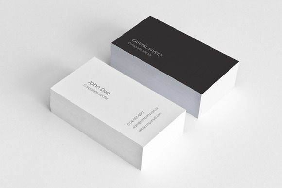 Simple & Clean Business Card by felicidads on @creativemarket
