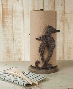 Seahorse Paper Towel Holder