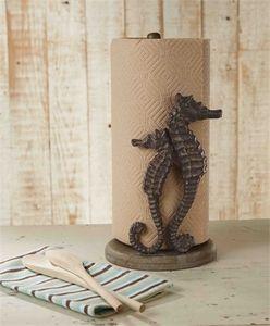 Seahorse Paper Towel Holder