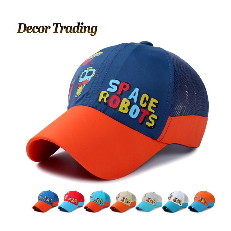 Spring Summer High Quality Cute Kids Baseball Caps for Boys Girls Bone Gorras Quick Dry Hat   Snapback Caps