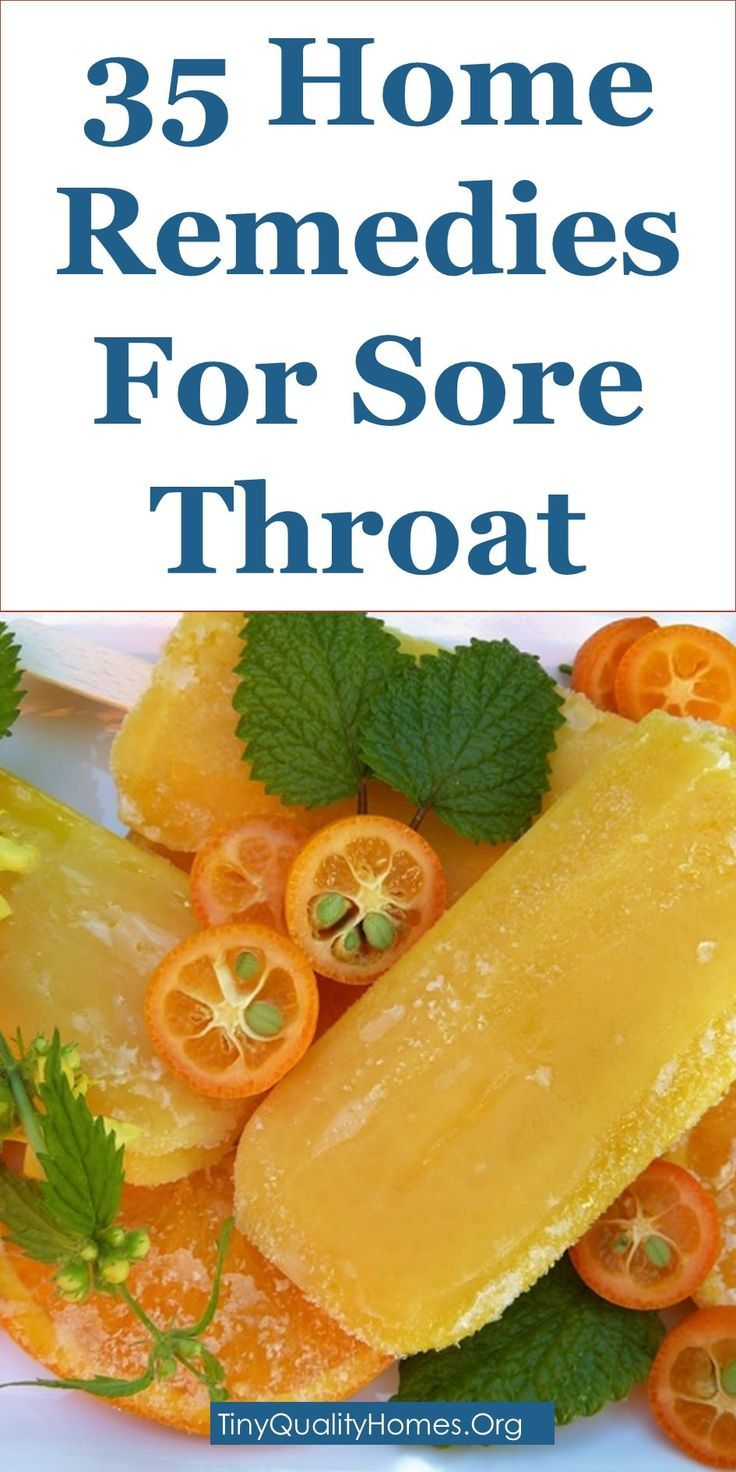 How To Get Rid Of Sore Throat 35 Home Remedies