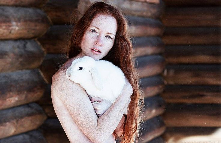 #alexandra bochkareva #photography #photographer #fox #print #model #rabbit #white #rousse #roux #redhead #girl #noipic