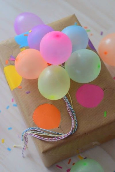 Birthday Gifts – 10 Creative Gift Wrapping Ideas – #geschenkegeburtstag