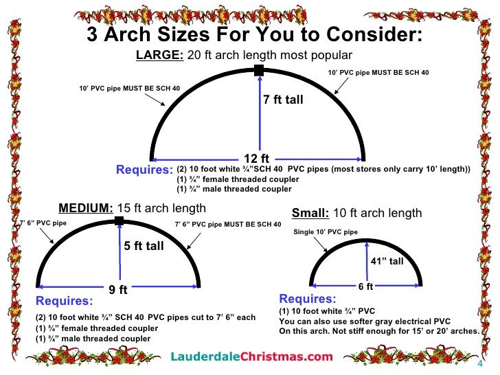 How To Build Leaping Light Arches Outdoor Christmas