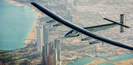 Solar Impulse 2 im Live-Stream: Flugzeug live verfolgen. Foto: SolarImpulse