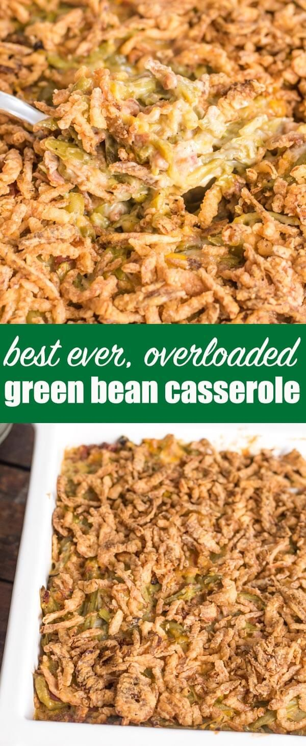 Best Green Bean Casserole | recipe from Tastes of Lizzy T