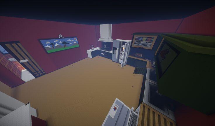 """Lobby di minatoriunti. Una enorme casa tutta da visitare. La """"Cucina"""""""