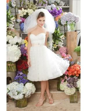 casual backyard wedding dresses watters wtoo brides kyra wedding dress is for a 27831