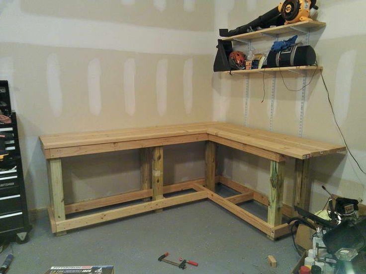 1000+ Ideas About Garage Workbench On Pinterest