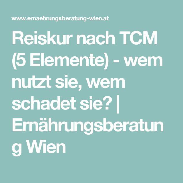 Reiskur nach TCM (5 Elemente) - wem nutzt sie, wem schadet sie? | Ernährungsberatung Wien