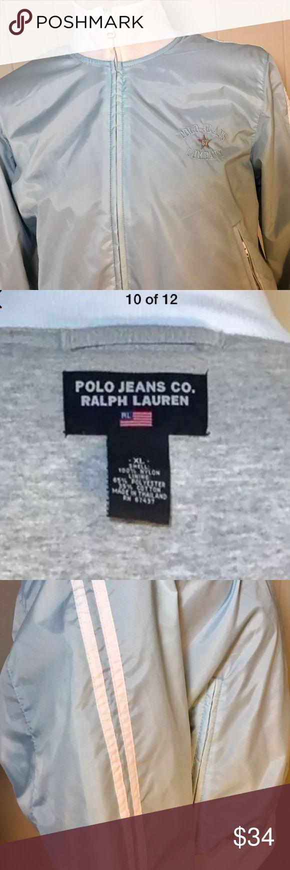 Polo Jean Co. Ralph Lauren Girls XL Lined Jacket. Polo Jeans Co. Ralph Lauren.Girls Jersey Lined Jacket. Zippered side pockets. Never worn. Polo Jeans Co. Ralph Lauren Jackets & Coats