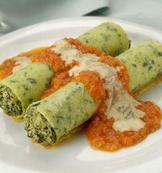 Recetas Vegetarianas de Rusia,crepes de calabacín,con receta