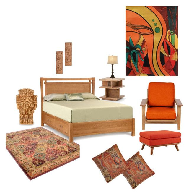 """Deluxe room"" by shivika-ahuja on Polyvore featuring interior, interiors, interior design, home, home decor, interior decorating, Pine Cone Hill, Bobby Berk Home, Rove Concepts and Copeland Furniture"