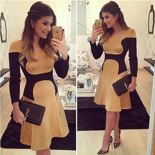 {Night Out} Vestido @thaisrodrigues87 (disponível online no site da marca viu meninas?!❤️www.thaisrodrigueslojavirtual.com.br ❤️) | #lookdanoite #lookofthenight #ootn #selfie #euvistothaisrodrigues #blogtrendalert