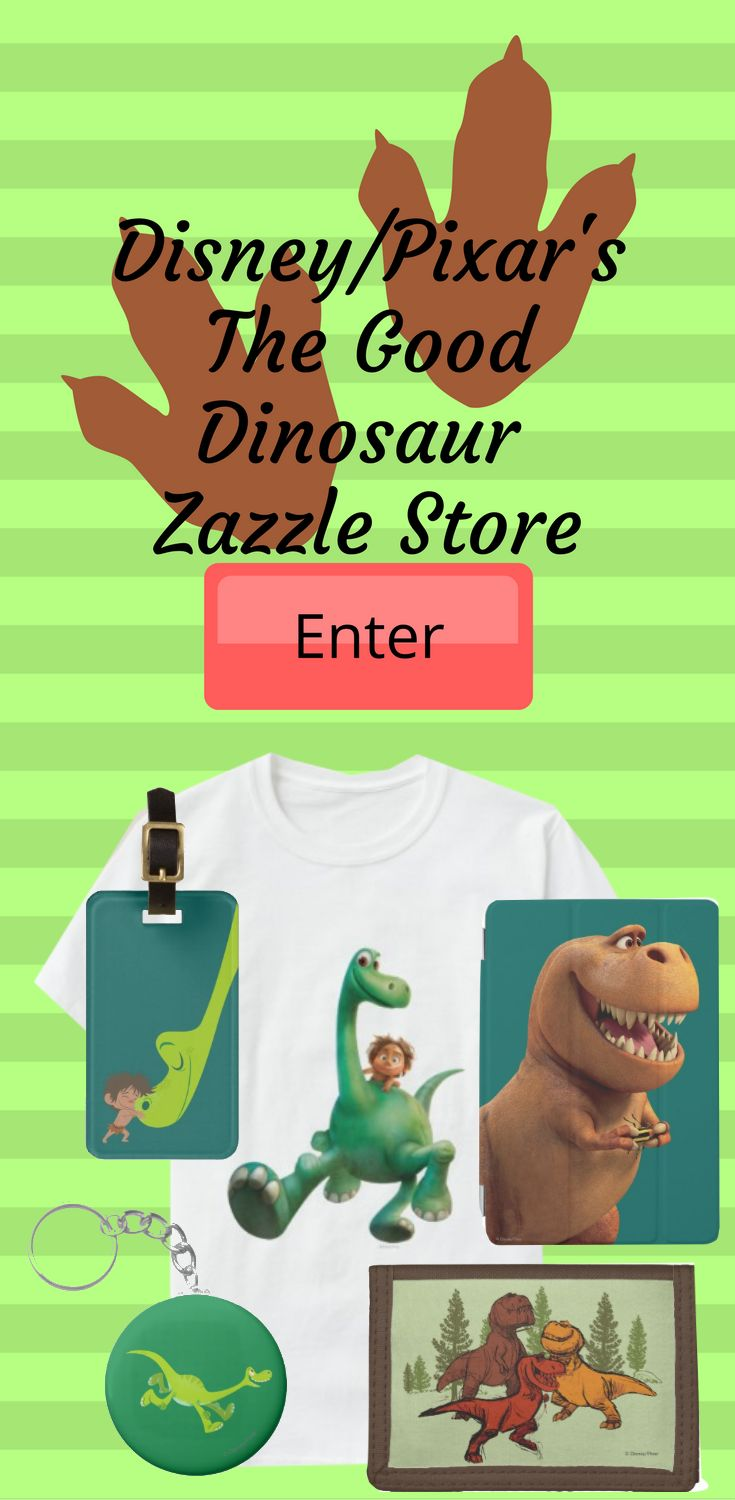 You'll dig all of the adorable designs we have to offer in their officially licensed Good Dinosaur store. Straight from the Disney/Pixar animated adventure, they got a cute collection of items inspired by the hilarious children's comedy. The unlikely best friends Arlo and Spot feature in their selection of delightful designs along with all of your favorite characters from the kid's classic. They got cards, t-shirts, stickers and many more product.