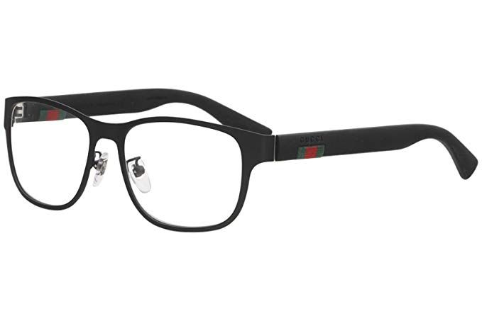 1a1ef12c9736 Gucci GG 0013O Metal Square Eyeglasses 55mm Review | Sunglasses and ...