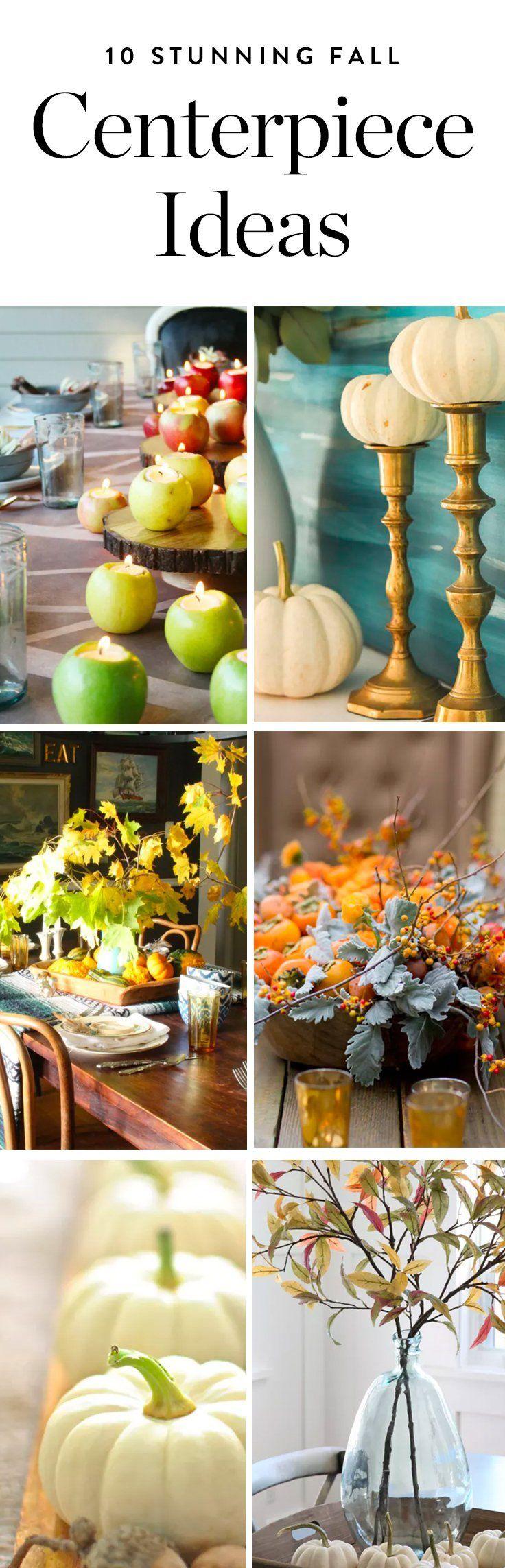10 Stunning Fall Centerpiece Ideas We Bet
