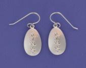 Lavender Sprig Earrings: Lavender Inspiration, Lavandula En, Inspiration Jewelry, Sprigs Earrings, Lavender Sprigs, En Bijouterie