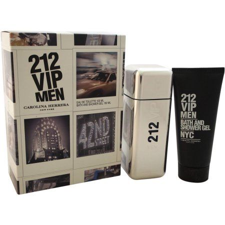 Carolina Herrera 212 VIP for Men Gift Set, 2 pc