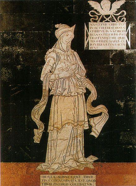 Sybilla Tiburtina. Serie della Sibille (1482-1483), Pavimento del Duomo di Siena