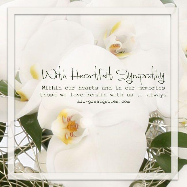 Sympathy card for loss robertottni sympathy card for loss altavistaventures Images