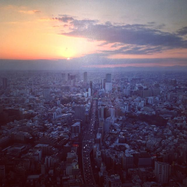 from Mori Tower