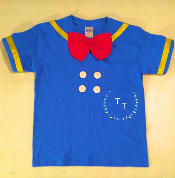 Donald Duck Shirt by TullelipsandTies on Etsy