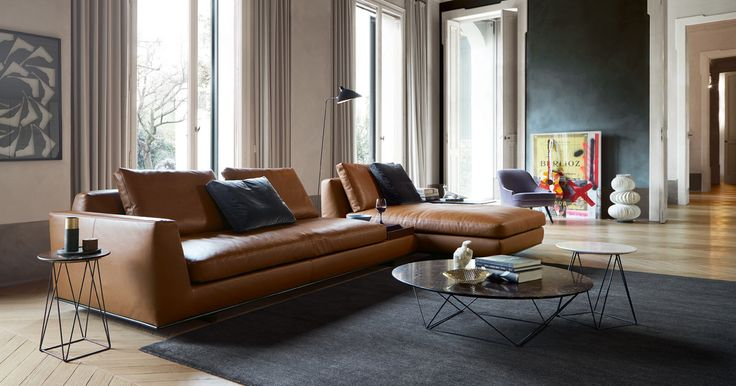 Joco Stone coffee table by Walter Knoll. Designed by EOOS.