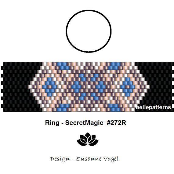peyote ring patternPDF-Download 272R beading pattern