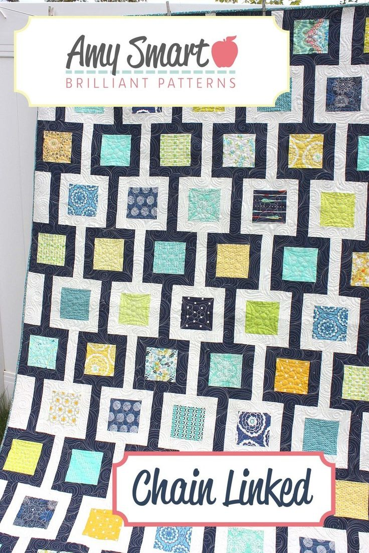 Chain Link Pdf Pattern Quilts I Ve Made Pinterest