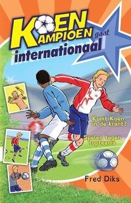Koen Kampioen internationaal - Kinderboek verschenen in het Lettertype Dyslexie - geschreven door Fred Diks