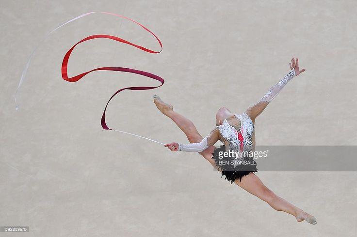 Image result for rhythmic gymnastics getty images