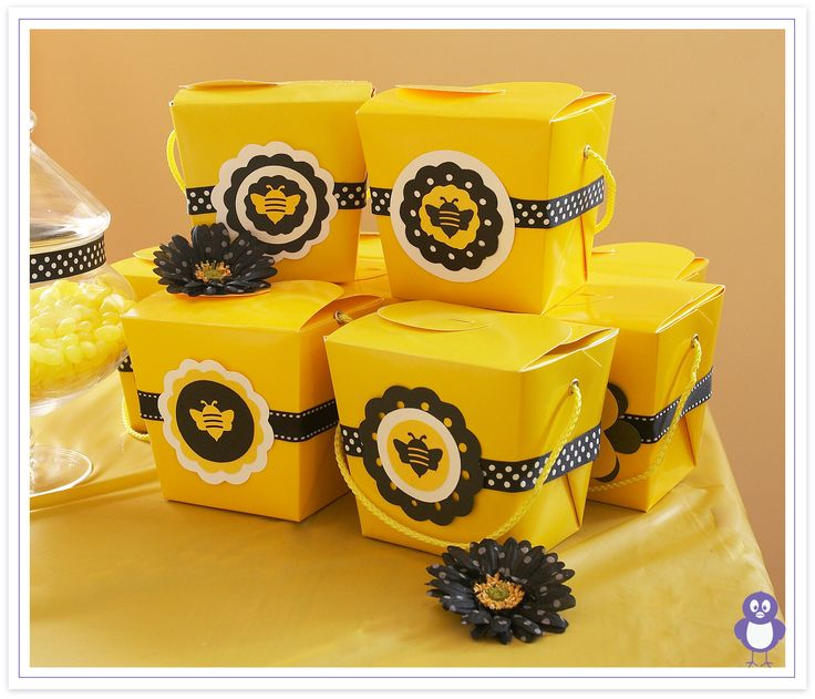 Party Favors That Match Bumble Bee Theme