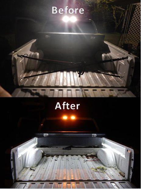 DIY Truck Bed Led Lights $20.00