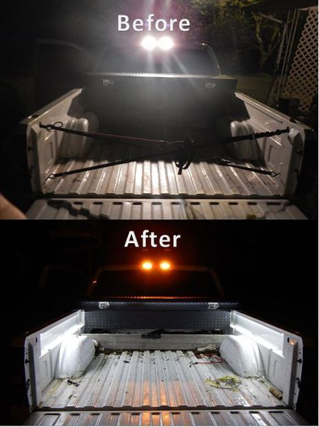 DIY Truck Bed Led Lights $20.00