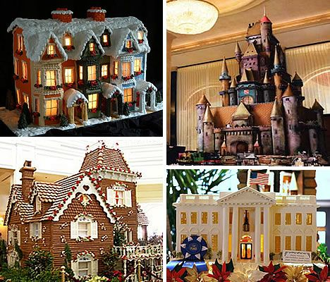 32 Astounding Architectural Designs of Gingerbread Houses
