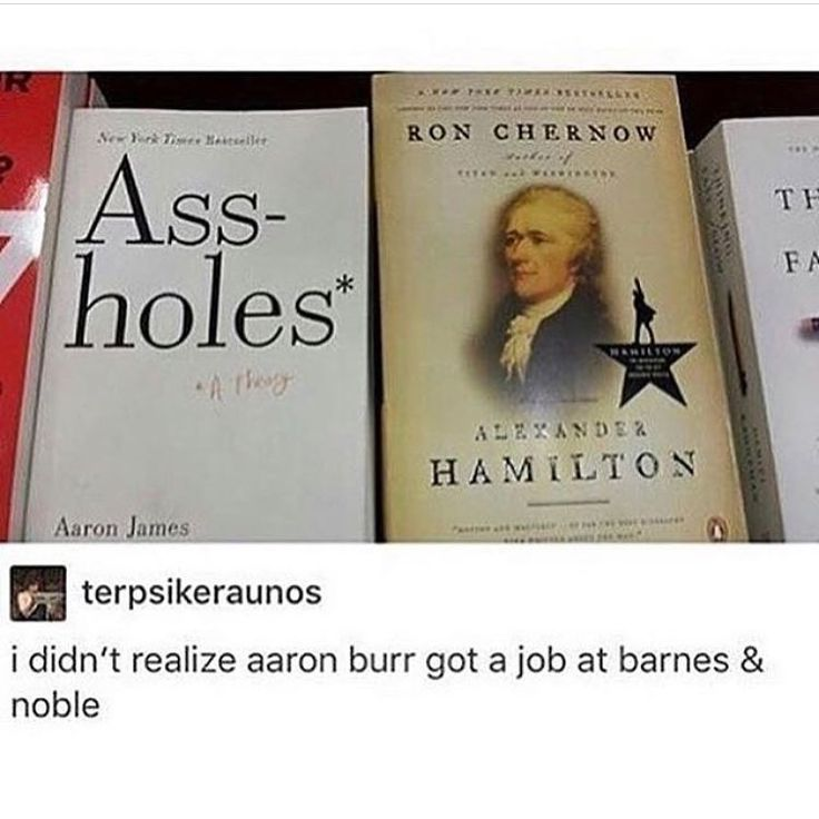Well his political career died with Hamilton. He had to do SOMETHING for money.