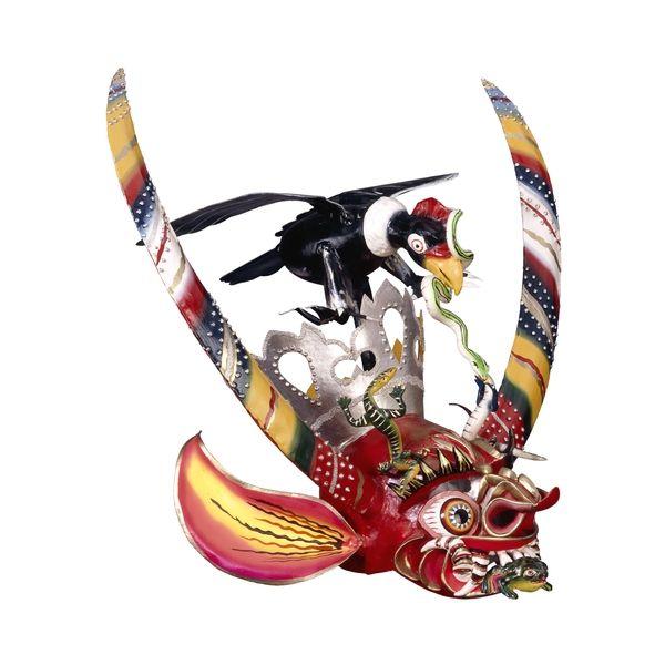 Diablada Dance Mask - Bolivia -  (British Museum - Highlight image)