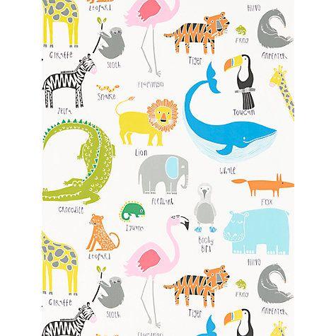 Buy Scion Animal Magic Wallpaper Online at johnlewis.com
