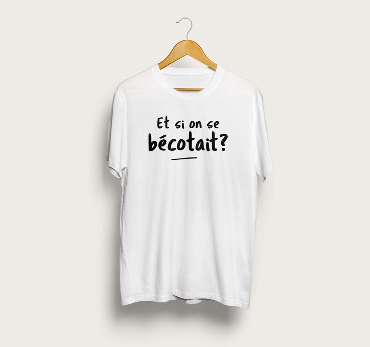 D'humeur badine... http://www.mister-tshirt.com/boutique/hommes/tshirt-et-si-on-se-becotait.html #tshirt #fun #geek #love #fashion #mode #blog #blogueuse #influencer #printemps #tendance #social