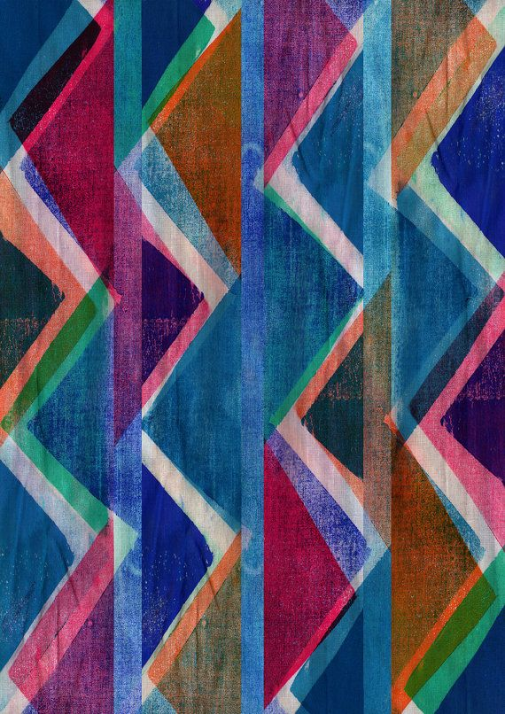 Fabric Block Print   Limited Edition Print by SarahBagshawPattern