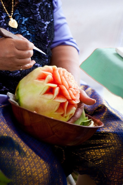Fruit Carving by pindo007, via Flickr