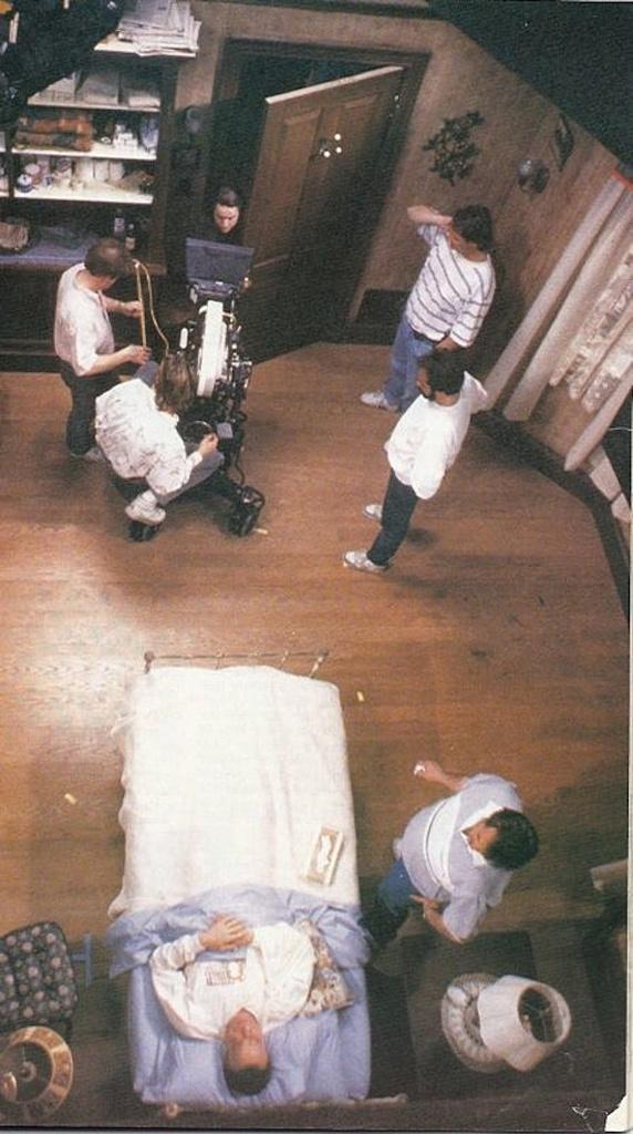 Filming Stephen King's Misery (1990) starring James Caan & Kathy Bates