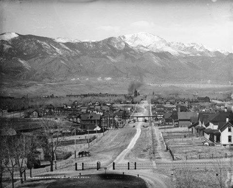 Pikes peak 1875 - Colorado Springs, CO