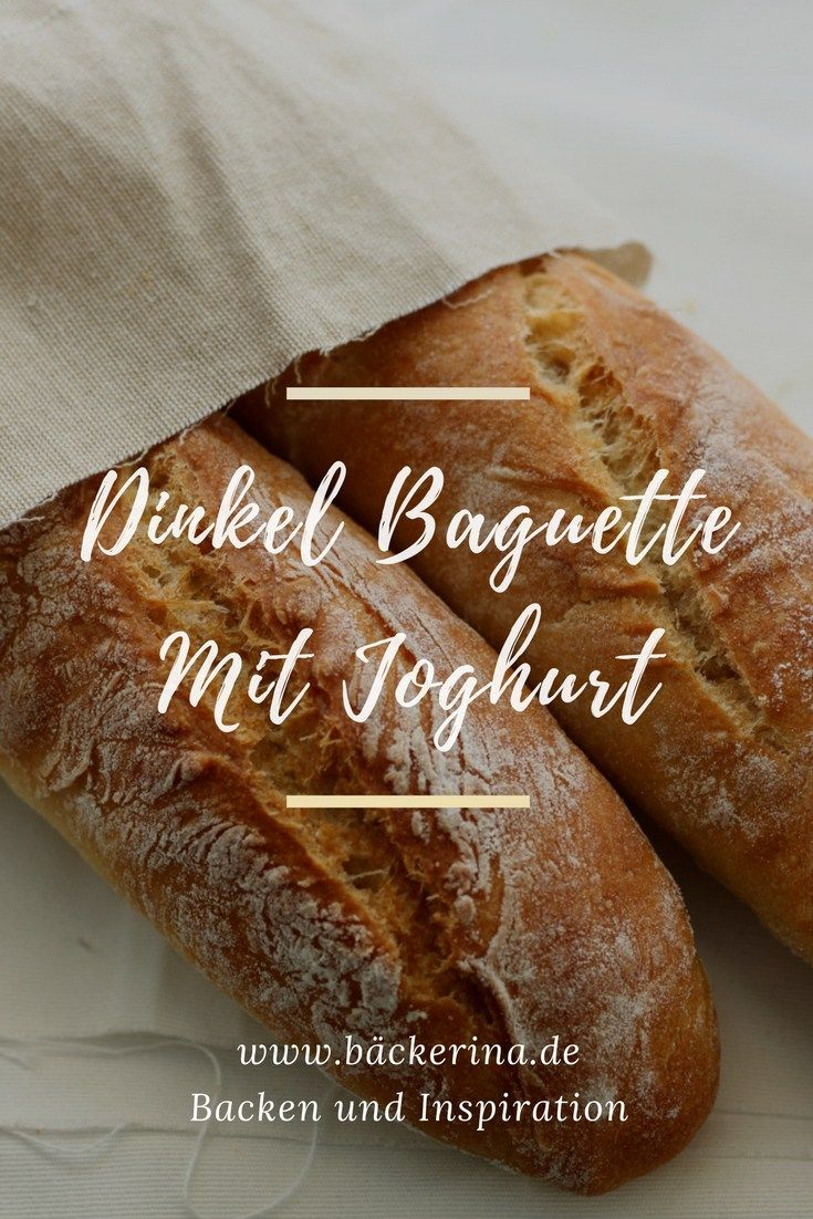 Dinkelbaguette mit Joghurt
