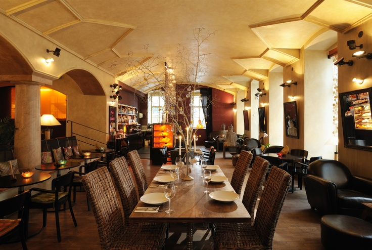 NOI Thai restaurant, Prague  http://www.noirestaurant.cz