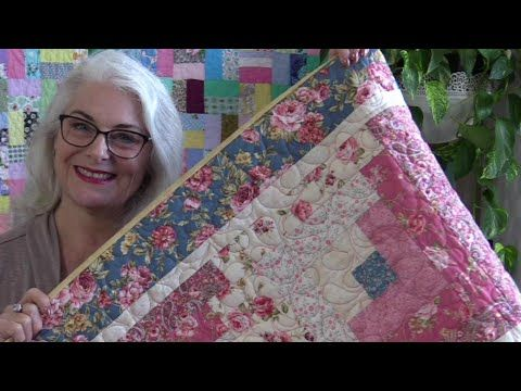 How To Bind And Finish A Quilt Youtube In 2020 Quilts Quilt Binding Quilting Techniques