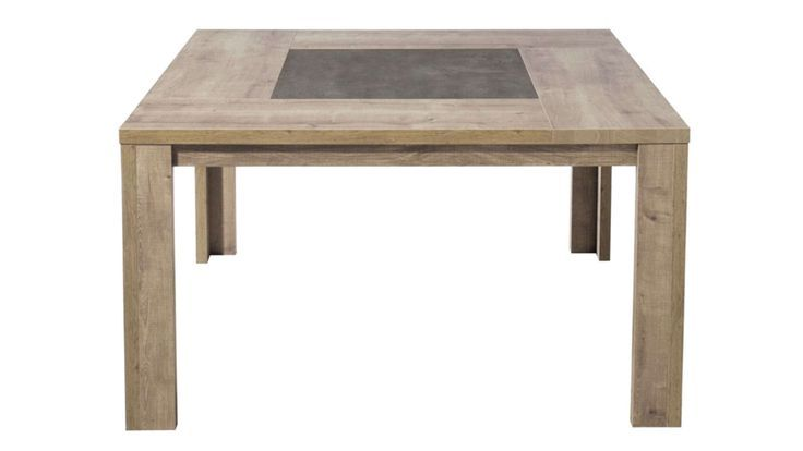 Table Carree 140 Cm Brest Coloris Chene Brest Carree Chene Coloris Table New Table Coffee Table Sideboard Console