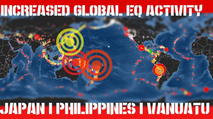 Earthquake Report | Sept 25, 2016 | Increased Activity! 4 Magnitude 6 EQ...
